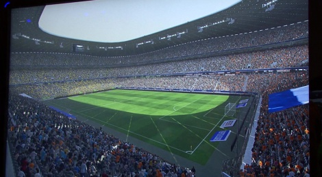 GC: PES 2015 gameplay
