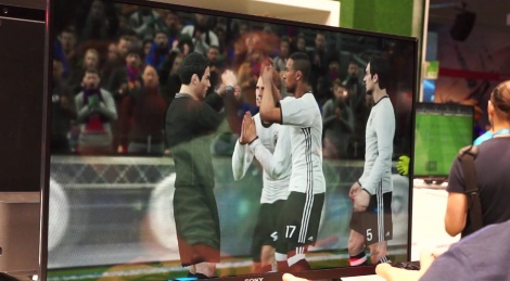 GC: PES 2017 gameplay