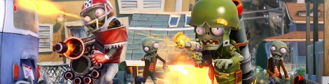 GC: PvZ Garden Warfare screens