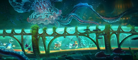 GC: Rayman Legends depicted