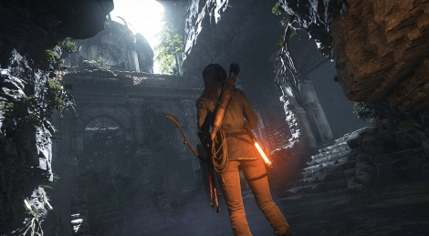 GC: Rise of the Tomb Raider gameplay