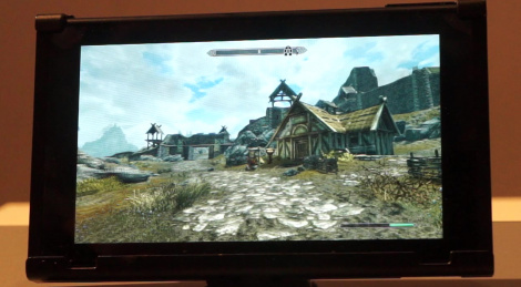 GC: Skyrim Switch handheld videos