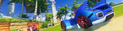 GC : Sonic Racing 2 en images & trailer