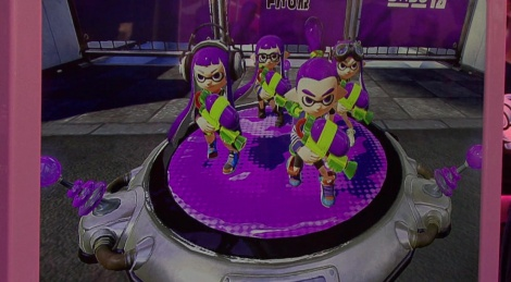 GC: Splatoon gameplay