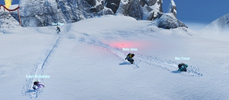 GC: SSX glides with screens & trailer