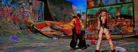 GC: Street Fighter X Tekken gameplay video