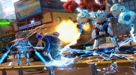 GC: Sunset Overdrive screens