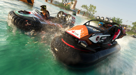 GC: The Crew 2 Gator Rush illustré