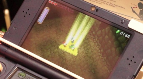 GC: Zelda Triforce Heroes gameplay