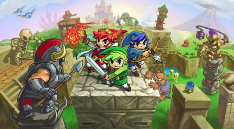 GSY Review : Zelda Tri Force Heroes