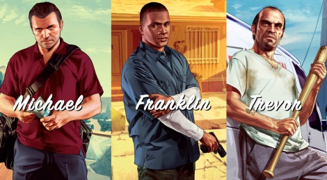 GTA V: Michael, Franklin, Trevor