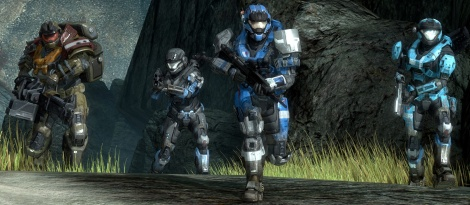 Halo Reach : images from the campaign
