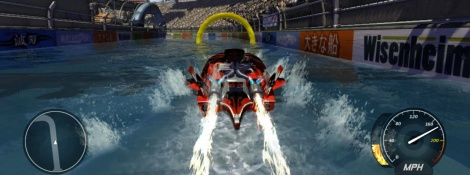 Hydro Thunder Hurricane: screens and videos