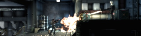 Images and gameplay of Shadow Complex
