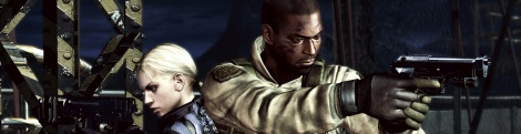 Images and videos of the RE5 DLC