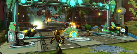 Images de Ratchet & Clank: QForce