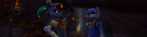 Images of Sly Cooper Thieves in Time