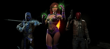 Injustice 2 unveils first 3 DLC characters