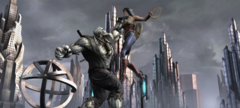 Injustice Gods Among Us s'illustre