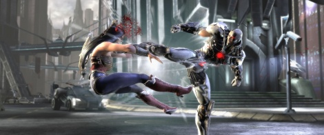 Injustice welcomes Nighwing & Cyborg