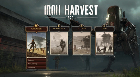 Iron Harvest kickstarted, new video