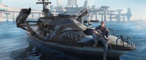 JC3 puts out to sea on Aug. 11