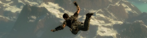 Just Cause 2: Vertical gameplay