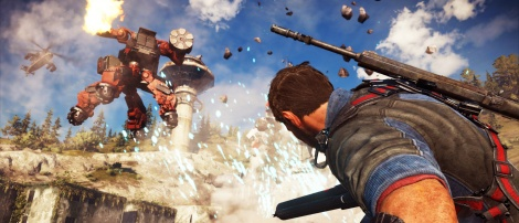 Just Cause 3: Mech Land Assault is out
