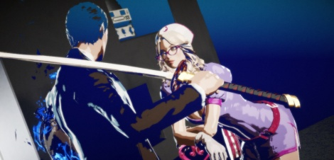 Killer is Dead in flagrante delicto