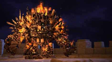 Knack images and concept arts