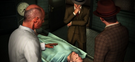 L.A. Noire goes to the morgue