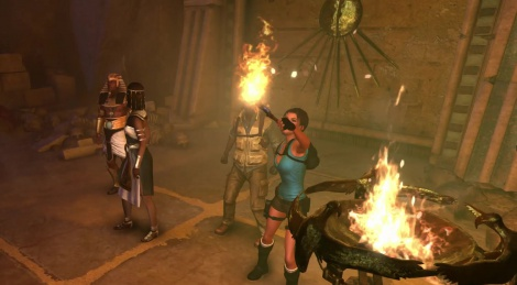Lara Croft Developer diary