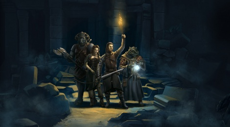Legend of Grimrock se lance
