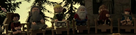 Lego LOTR : The Fellowship Rises