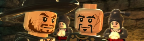 LEGO Pirates of the Caribbean Screens