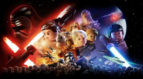 LEGO SW The Force Awakens on PS4