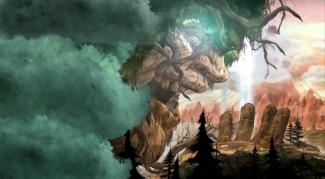 Lemuria, the world of Child of Light
