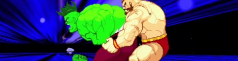 Marvel vs Capcom 2: Hulk vs Zangief