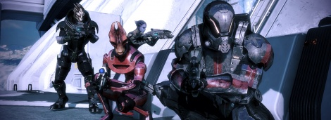 Mass Effect 3: co-op Screens