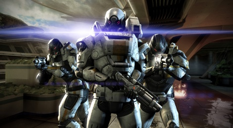 Mass Effect 3 shyly shows itself
