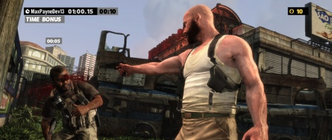 Max Payne 3: Arcade Mode screens
