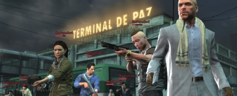Max Payne 3 Multiplayer Screens