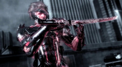 Metal Gear Rising cuts up