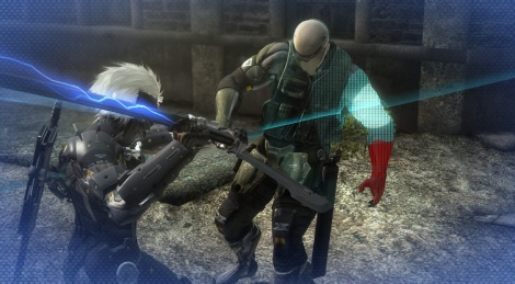 Metal Gear Rising new gameplay