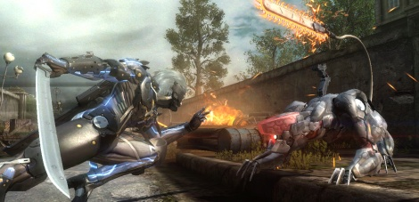 Metal Gear Rising new screens