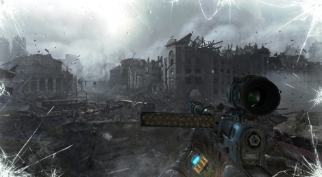 Metro Last Light in 4K on GSY
