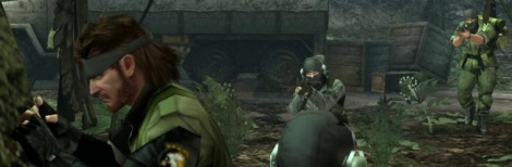MGS HD Collection Gameplay Footage