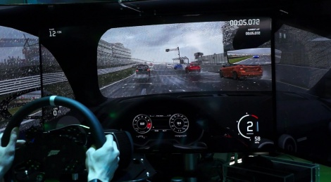Miguel wets himself on Forza 6