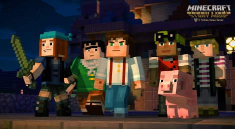 Minecraft: Story Mode first trailer