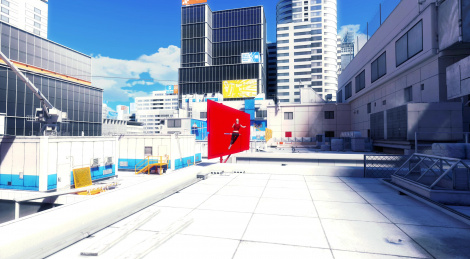 Mirror's Edge in 4K on Xbox One X